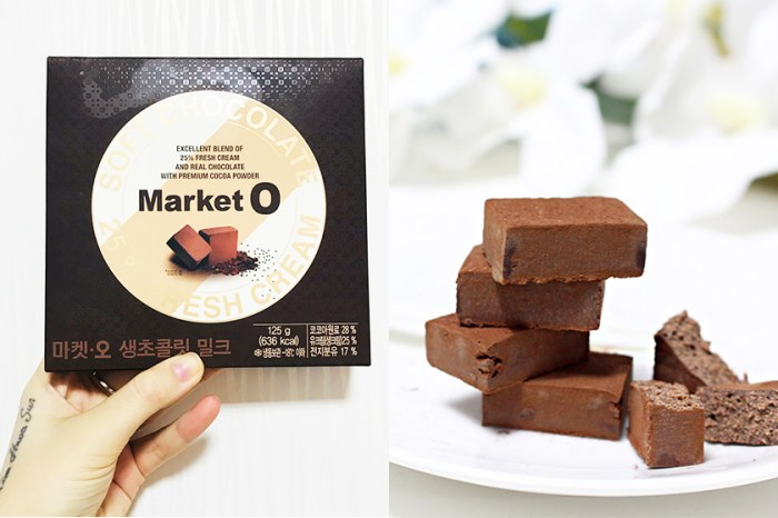開箱!Market O 手信新作-令朱古力迷失控的 Fresh Chocolate!