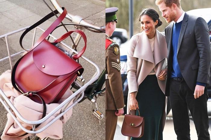 「準皇妃效應」下將火速 Sold Out:繼 Strathberry 之後,Meghan Markle 要捧紅的下一個小眾手袋品牌!