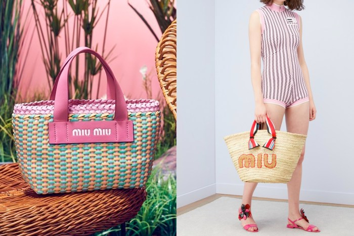 夏日怎能錯過時髦的渡假風格?Miu Miu 新系列竹藤包會是你最完美的選擇!