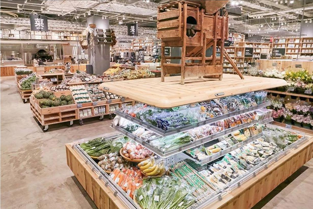 當無印良品變成超級市場  你就知道在這兒花一整天也絕不困難