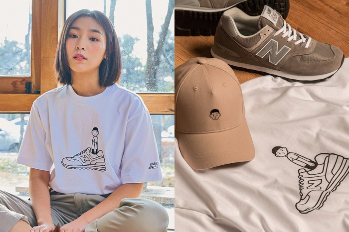 New Balance 聯名人氣插畫家 Noritake,T-Shirt、托特包、帽子全都想要!