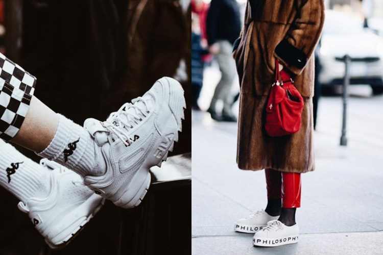 身高不過 5 呎?2018 大熱 Platform Sneakers 將會是嬌小女生的福音!