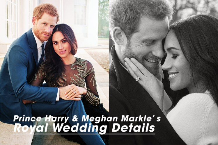 #POPBEE 專題:哈利王子和 Meghan Markle 的世紀婚禮,你要知道的細節都在這裡!