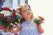 鎂光燈下的皇室:想不到年紀小小的夏洛特小公主已經找到自己的興趣…