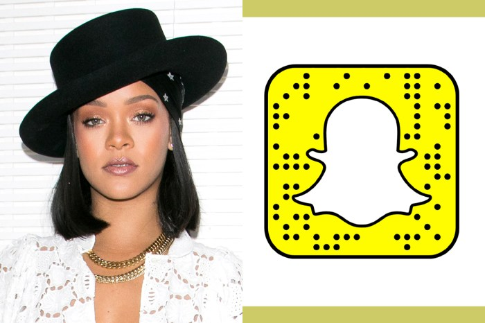 Snapchat 事件完不了-Rihanna 一篇 Instagram Story 就讓 Snapchat 股價蒸發 6 億!