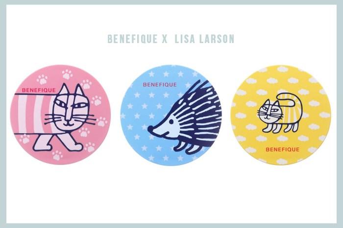 當日本美妝品遇上北歐設計:資生堂品牌 Benefique 要跟著名陶藝師 Lisa Larson 合作!