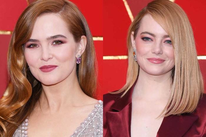一眾荷里活女星已率先示範 2018 春季流行眼妝色系