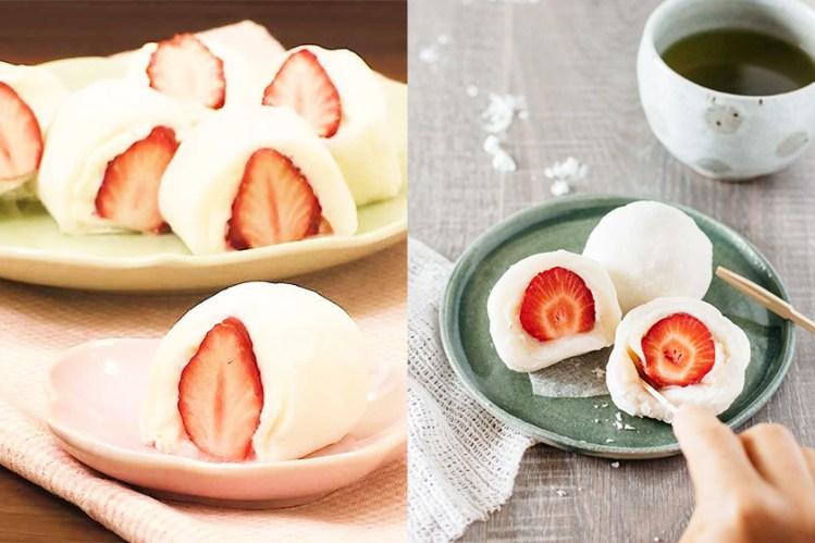 #週末廚房:「天使口感」!Homemade 日本和菓子-草莓 Mochi