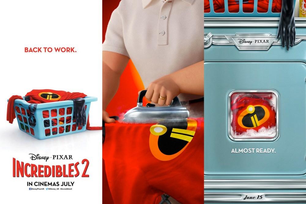 《超人特工隊 2》官方海報出爐,原來消失的 14 年這一家人跑去渡假了!