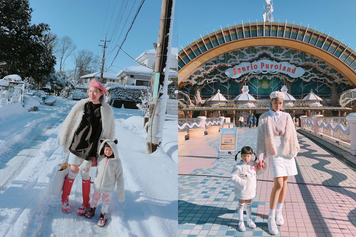 最古靈精怪的母女穿搭 看在日本的台灣媽媽 Tsumire 和寶貝 Ivy 示範