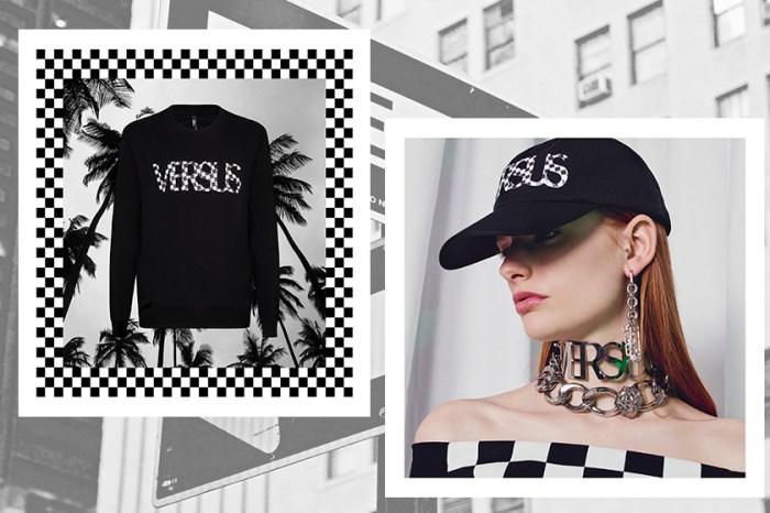 別創新格:2018 Versus Versace 「Check VS Logo」別注系列,讓你以黑色穿出超凡的時尚感!