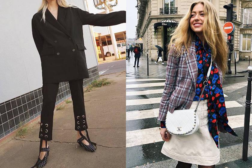 Image of 經典西裝外套流行度不減:看時尚達人演繹貼合春季的造型!