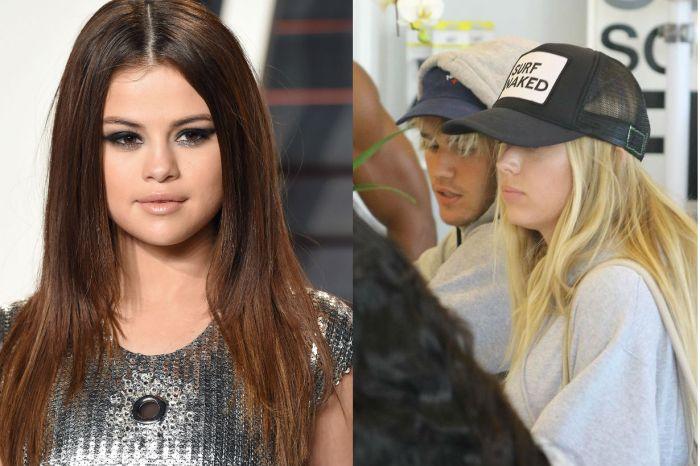 才和 Selena Gomez 進同一間餐廳…Justin Bieber 下一秒就拍到和同一位金髮女模勾手約會!