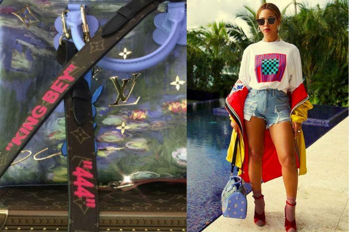新任總監首樣作品!Virgil Abloh 為 Beyoncé 打造獨一無二專屬 Louis Vuitton 手袋!