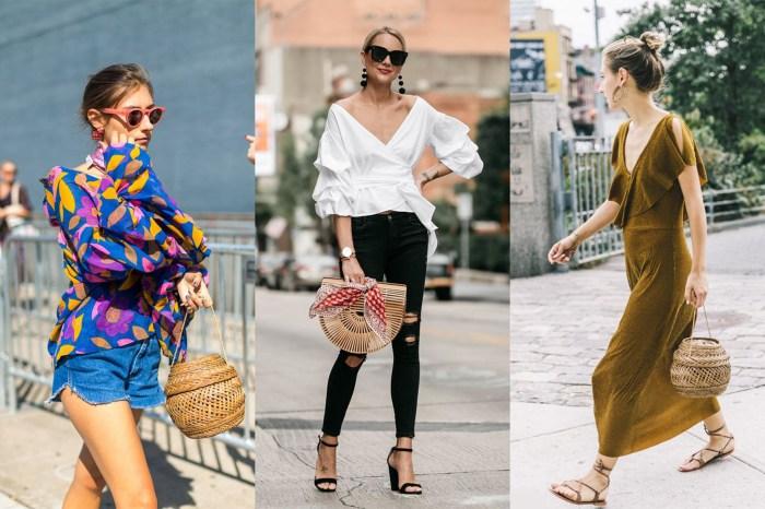 春夏必備的 IT Bag 就是編織包,看街拍達人給你完美示範吧!