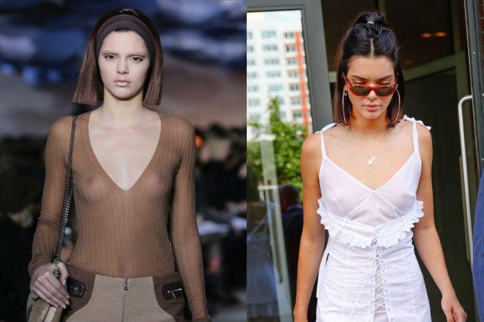 「它總是很尖挺的樣子!」 女人們最新流行的整形範本竟是 Kendall Jenner 的乳頭?
