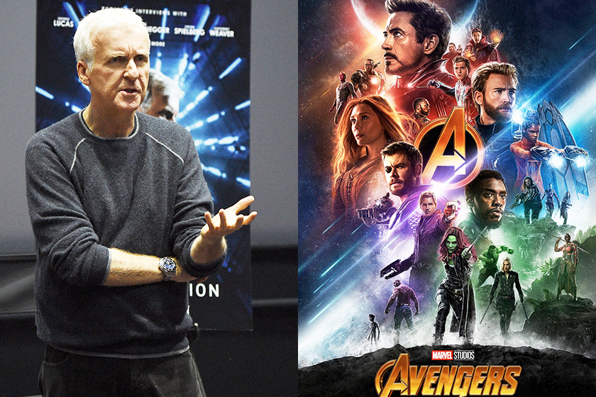 James Cameron avangers comment