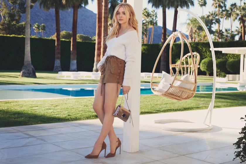 「超殺女」真的長大了-Chloë Grace Moretz 最新時尚 Lookbook 散發出滿滿女人味