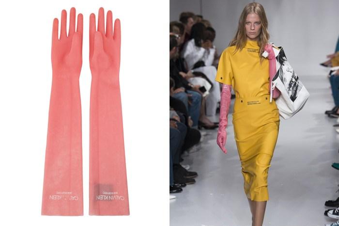 Calvin Klein 推出天價「洗碗手套」,就是要跟大家開個玩笑