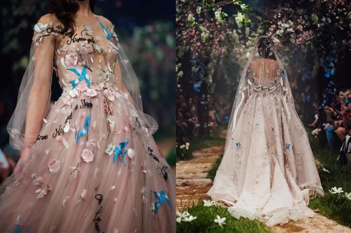 仙氣逼人!想不到如些夢幻的婚紗都是來自迪士尼的童話故事…