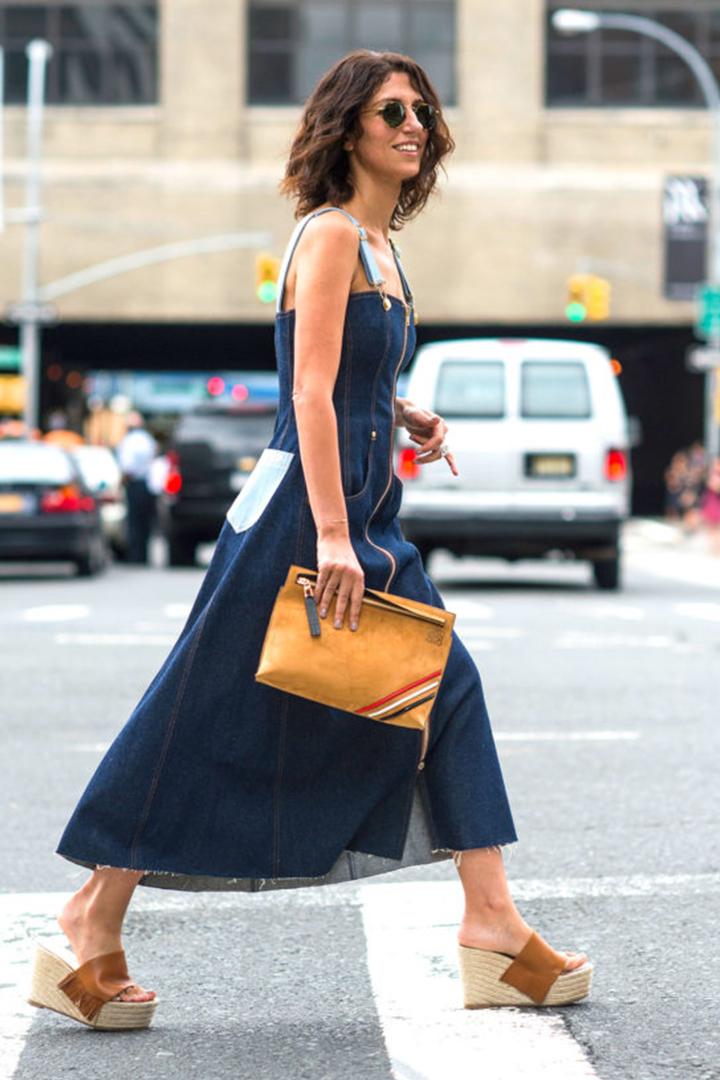 法國女生的夏日裝扮最愛穿法式草編鞋  espadrilles