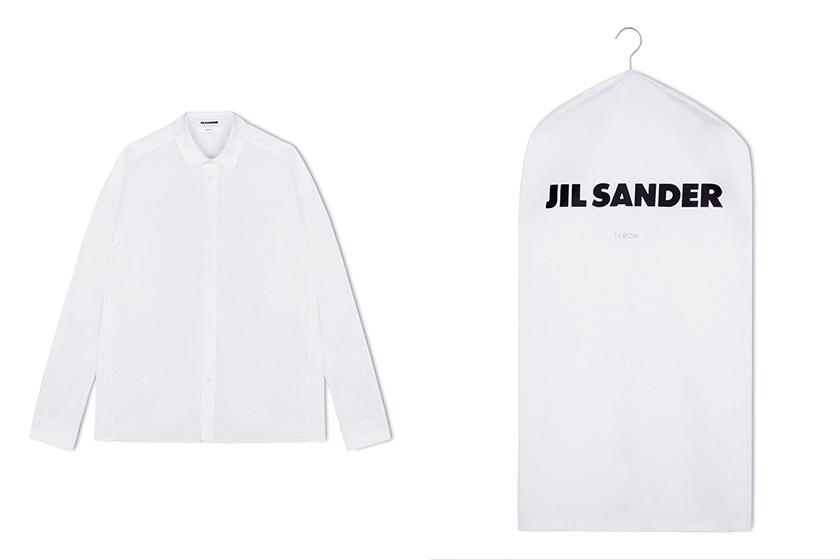 Jil Sander 7 Days White Shirt Collection