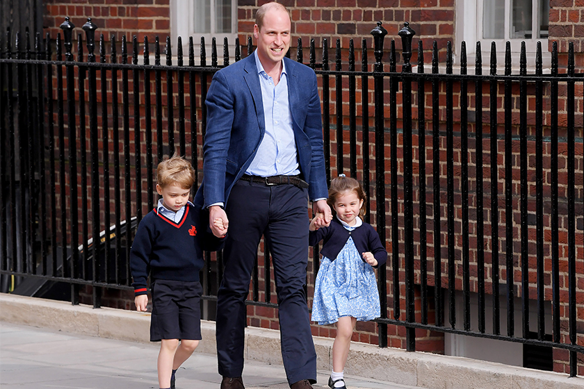 Kate Middleton give birth to third royal baby princess-charlotte prince george royal wave