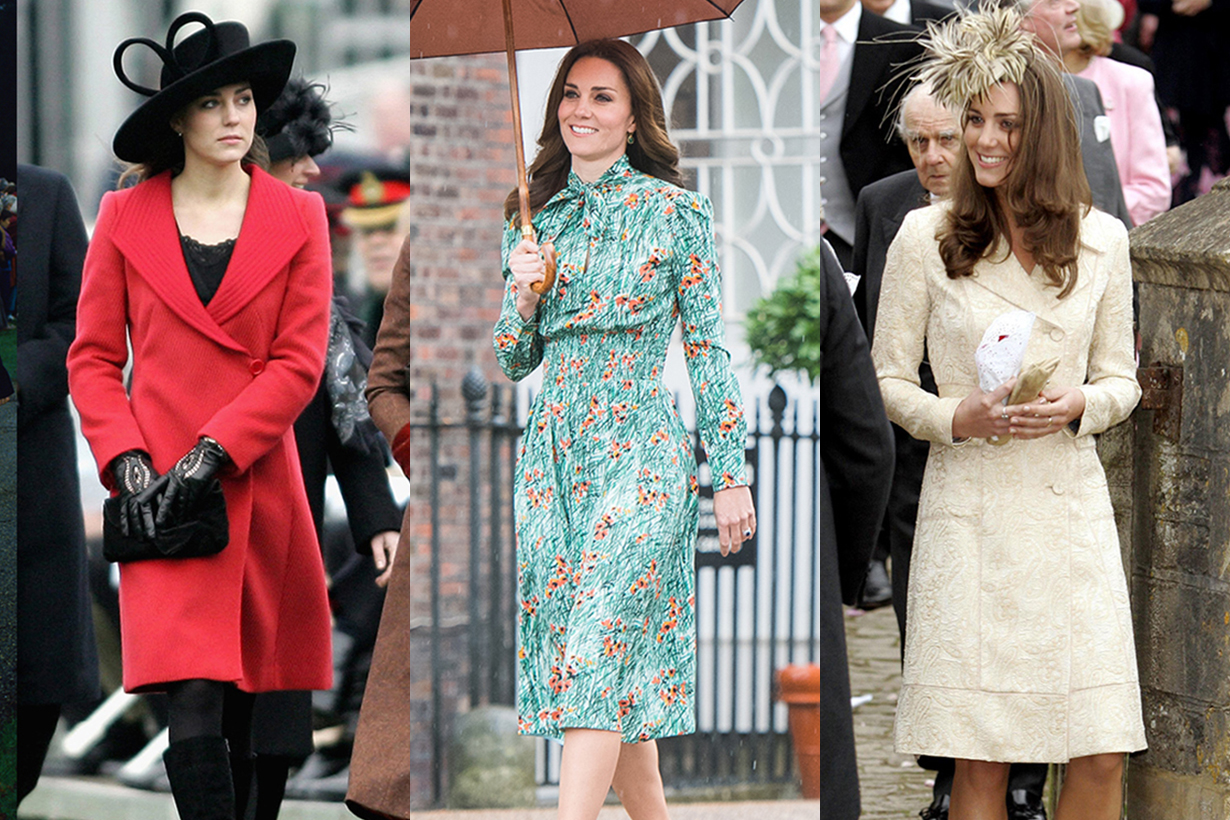 Kate Middleton outfits were inspired by Princess Diana