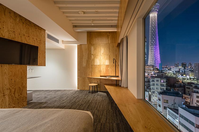 隈研吾設計的酒店 ONE@Tokyo