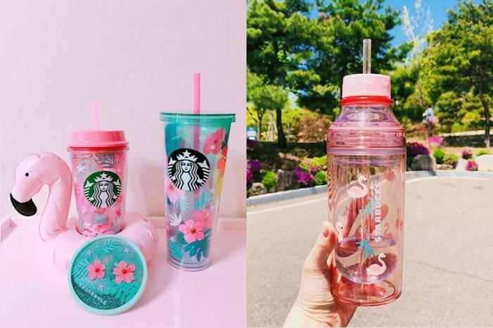 櫻花杯 Out 了!現在韓妹搶著買的是 Starbucks 全新的紅鶴夏日主題系列