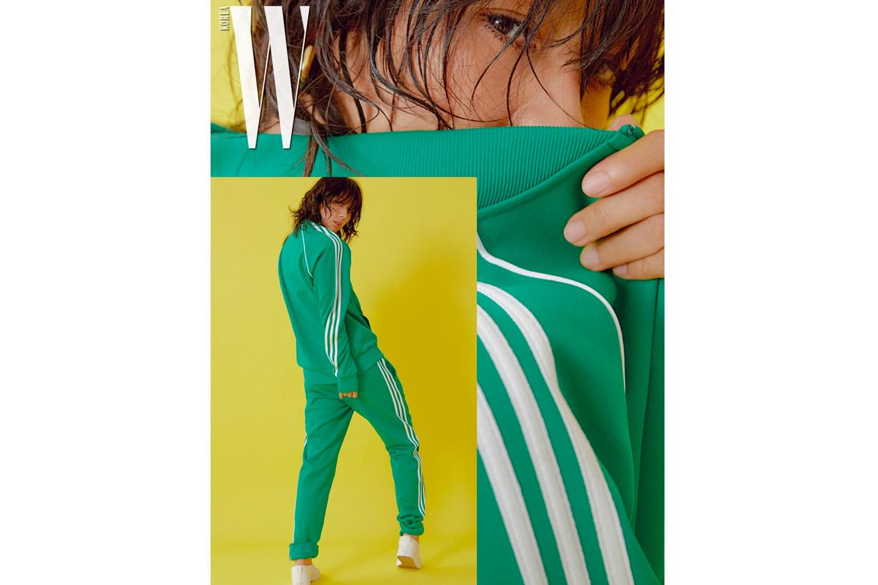 Lee Hyori W Korea adidas Originals Korea sexy photoshooting