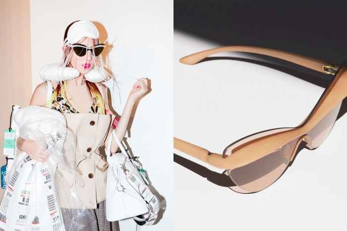 看了 Mykita x Maison Margiela 的最新聯乘,這個夏天你也會想擁有副「裸色墨鏡」!