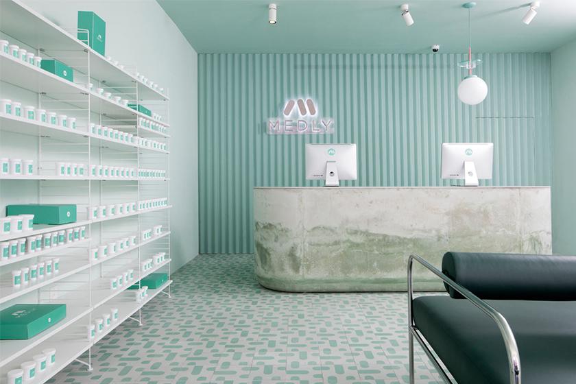 Medly Pharmacy good design brooklyn pharmacy