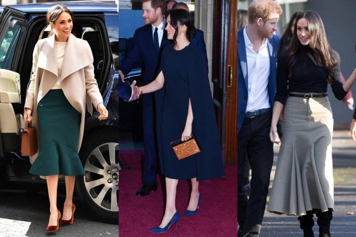 Meghan Markle 一系列素色穿搭,幾近完美示範 30 代女性該如何保持優雅格調