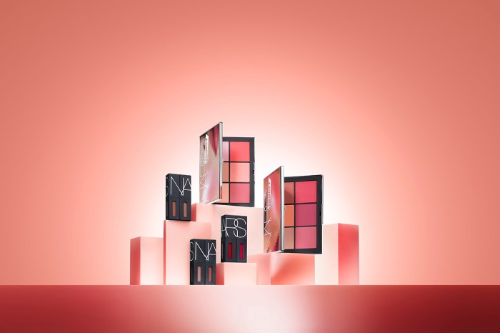 開箱 Nars 的春日新品!將粉紅色妝容塑造得時尚有型