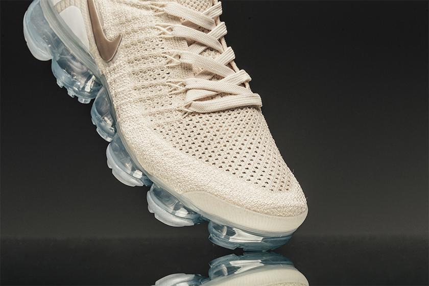 Nike Air VaporMax Flyknit 2.0  推出米白 x 金配色