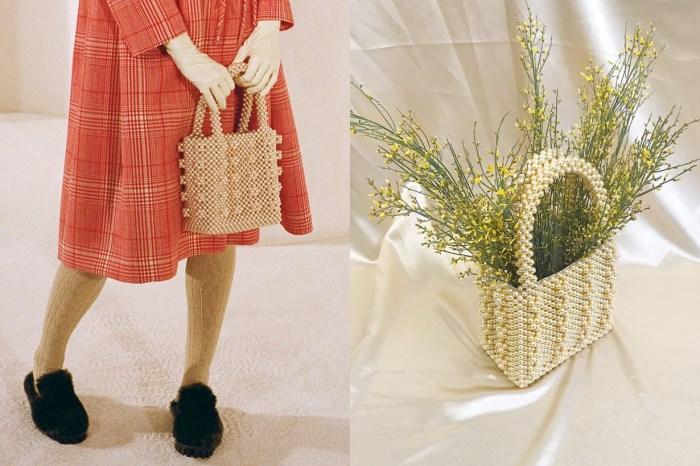 Instagram 曝光率超高的復古珍珠小包,原來是來自這個倫敦小眾品牌!