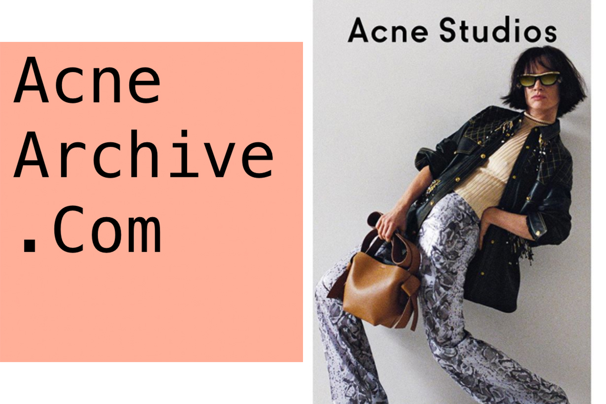 Acne Studios is Launching crazy low prices sale