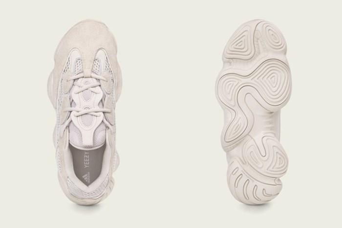 又一潮鞋誕生!adidas Originals 聯 Kanye West 推 Yeezy 500 Blush