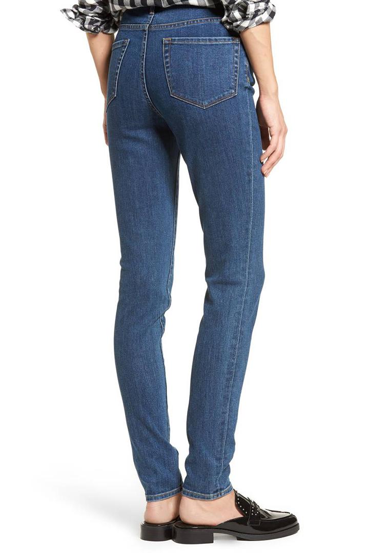 為小資女推介平價又顯瘦的牛仔褲  Nordstrom 旗下品牌 Treasure & Bond skinny jeans