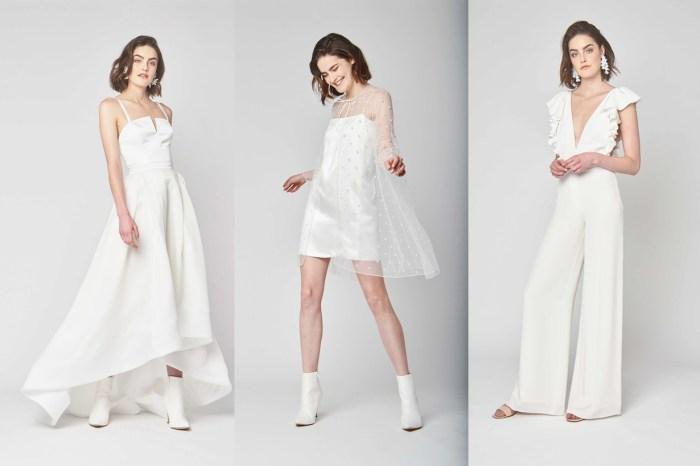 不怕婚紗放著沒機會穿!Alexandra Grecco 的這個系列讓新娘可以時常重複再穿!