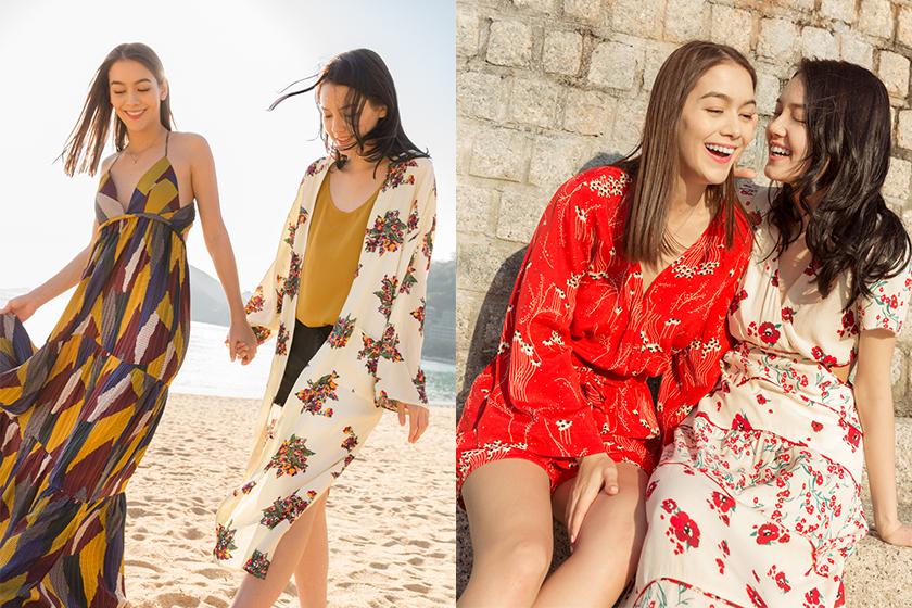 穿上ba&sh 2018 春夏系列與閨密來一趟法式的香港遊