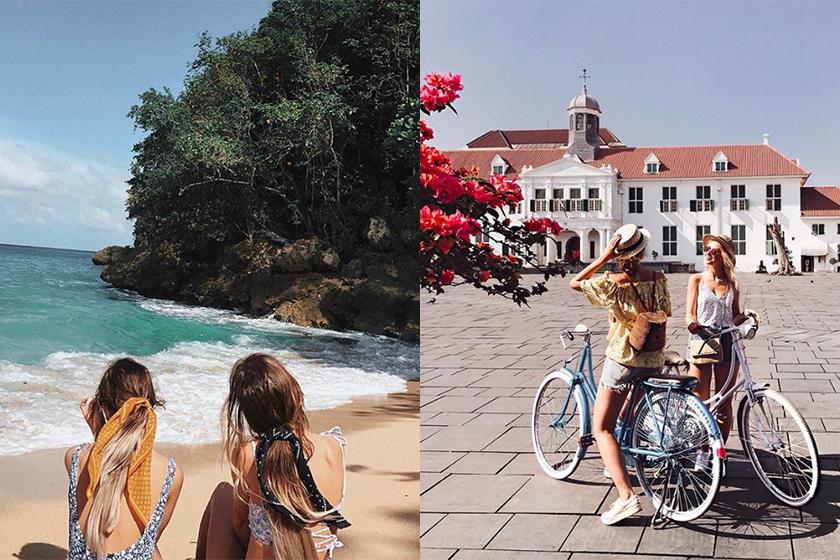 bbc three travel show  bff travel photo shoot formula