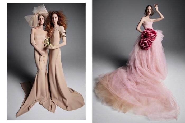 破格婚紗女王:Vera Wang 2019 年的春季婚紗,要你「裸」著當藝術型新娘!