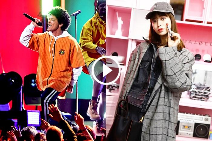 日本人氣模特兒看演唱會只顧自拍,Bruno Mars 憤怒向她投擲毛巾!