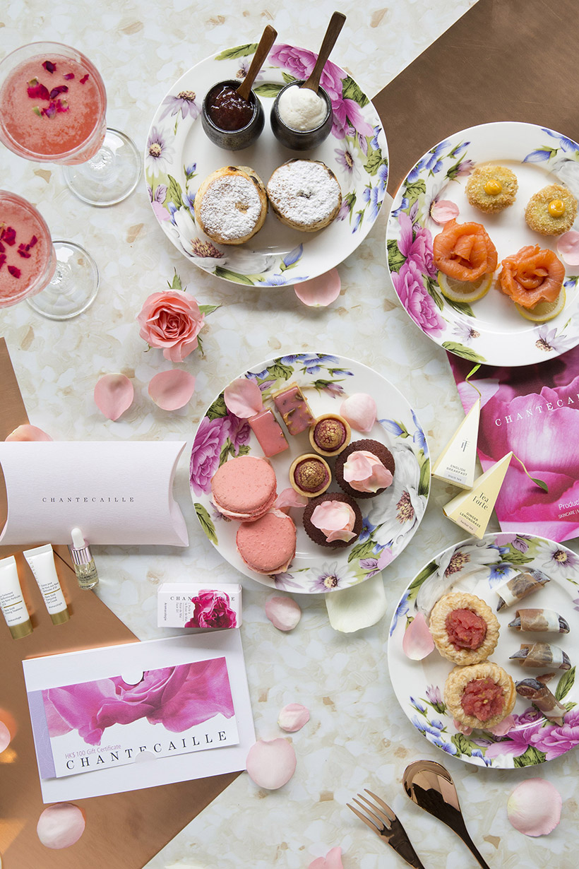 CHANTECAILLE x AMMO Afternoon Tea