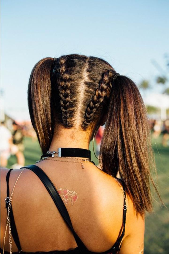 讓出席 Coachella 的女生告訴你,今季最流行的髮型原來是這個!