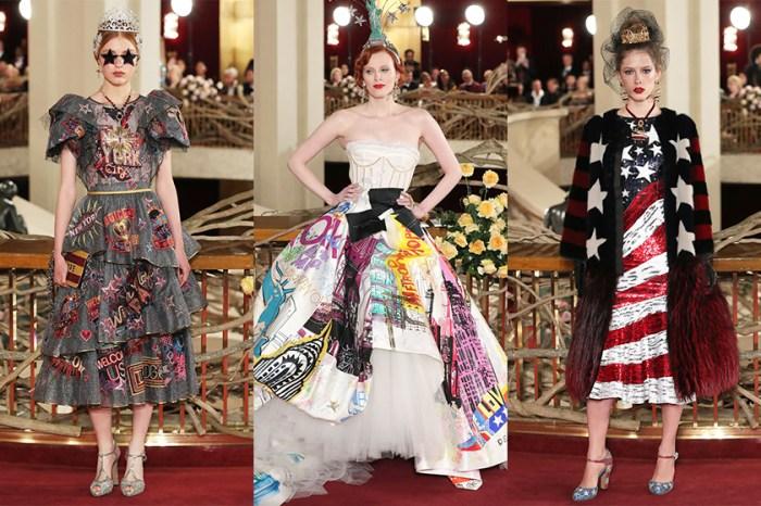 Dolce & Gabbana 於紐約舉行 Alta Moda 時裝騷,帶來百老匯式華麗盛會!