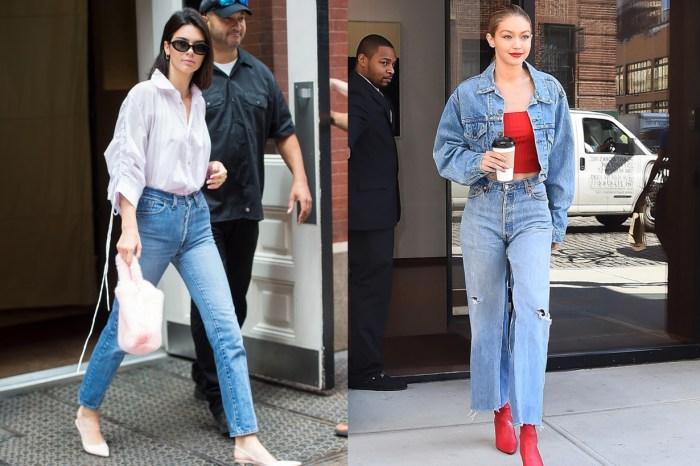 Kendall Jenner、Gigi Hadid 最近都愛上的這個品牌,可以讓你買到專為女生而設的牛仔褲!