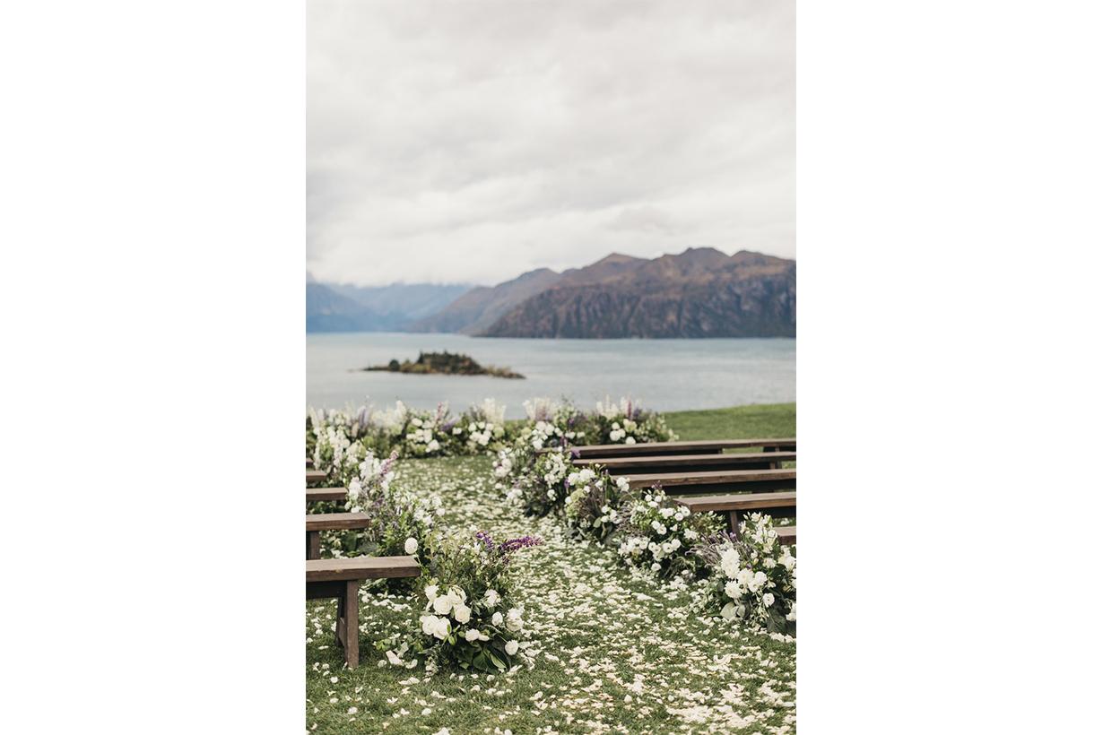 Gary Pepper 創辦人 Nicole Warne 的浪漫的戶外婚禮,每個細節都有著無限的唯美